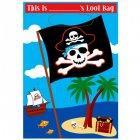 8 Pochettes � cadeaux Pirate Party