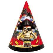 8 chapeaux Pirate Carte au trésor