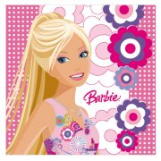 20 serviettes Barbie Fashion 2