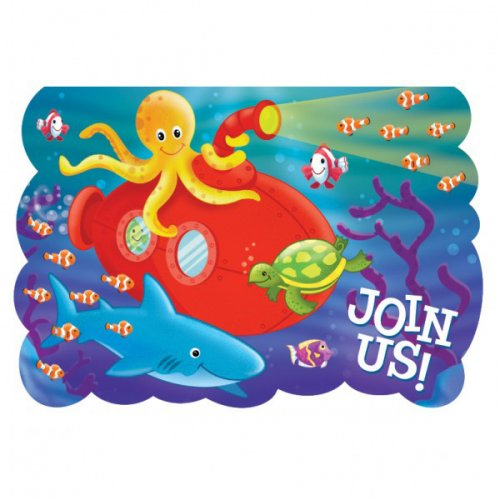 8 Invitations Marine