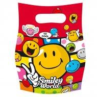 6 pochettes à cadeaux Smiley world