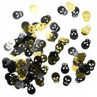Confettis Pirate t�te de mort