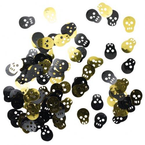Confettis Pirate tête de mort
