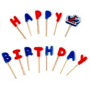 Bougies ''Happy Birthday'' Spiderman