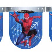 Guirlande fanions Spiderman 3