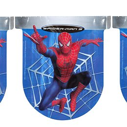 Guirlande fanions Spiderman 3