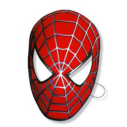 6 masques Spiderman 3