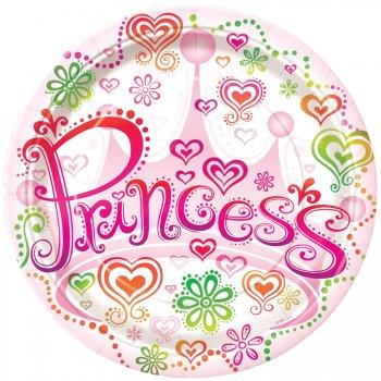 8 Assiettes Princesse Diva