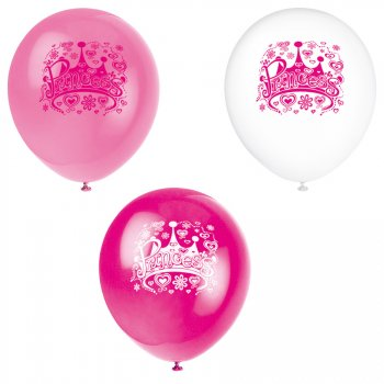 8 Ballons Princesse Diva