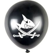 8 ballons Sharky