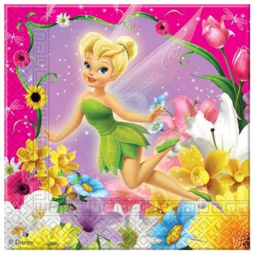 20 serviettes Fairies