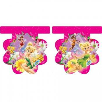 Guirlande Fanions Fleurs Fairies