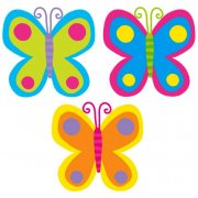 3 Décos papillons