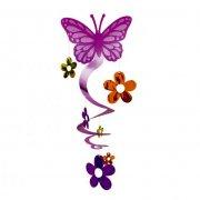 Décoration spirale papillons