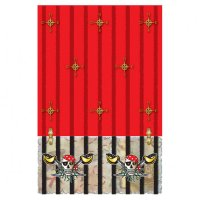 Contient : 1 x Nappe Red Pirate