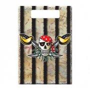 8 Pochettes à cadeaux Red Pirate