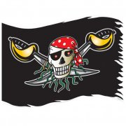 Drapeau Red Pirate