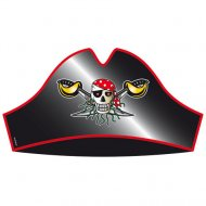 8 Chapeaux Red Pirate