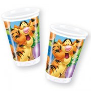 8 gobelets Winnie fantastic