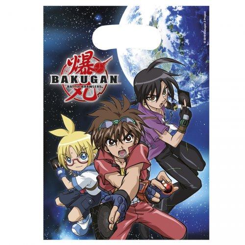 6 pochettes à cadeaux Bakugan
