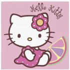20 serviettes Hello Kitty bamboo