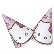 6 chapeaux Hello Kitty bamboo
