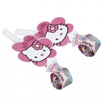 6 sans-gênes Hello Kitty bamboo