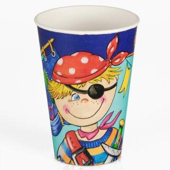 10 Gobelets petit Pirate