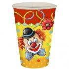 10 gobelets Clown
