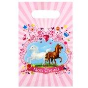 6 Pochettes à cadeaux  Mon Cheval