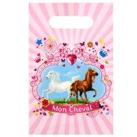 Contient : 1 x 6 Pochettes à cadeaux  Mon Cheval