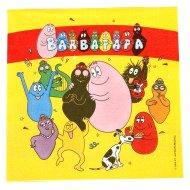 20 Serviettes Barbapapa