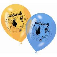 Contient : 1 x 6 Ballons Barbapapa
