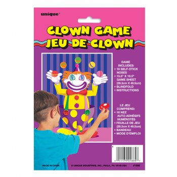 Jeu à fixer au mur Clown