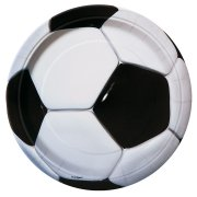 8 Assiettes Ballon de Foot