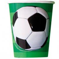 Contient : 1 x 8 Gobelets  Ballon de Foot