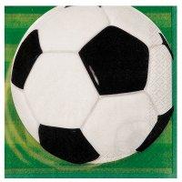 Contient : 1 x 16 Serviettes Ballon de Foot