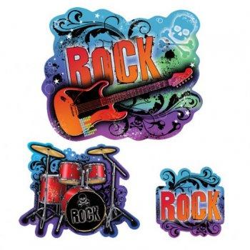 30 Décorations Rock