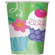8 Gobelets Cupcake