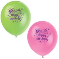 Contient : 1 x 8 Ballons Cupcake