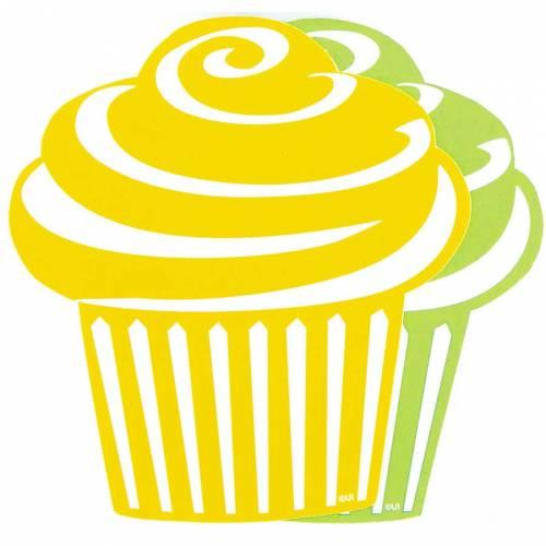 10 décorations Cupcake