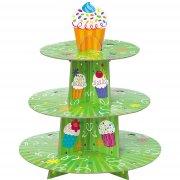 Pr�sentoir � Cupcakes vert