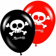 8 Ballons Annikids Pirates-Party