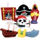Bougies Pirates-Party!
