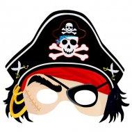 Lot de 6 Masques de pirates
