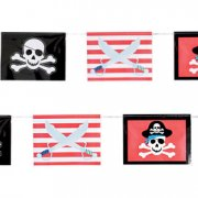 Guirlande fanions Pirate-Party !