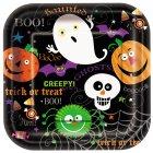 10 Assiettes Spooky Smiles
