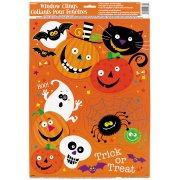 D�corations de fen�tre Spooky Smiles