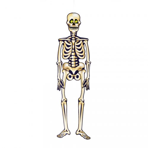 Décoration squelette à suspendre