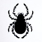 Décoration Araignée Pailletée à suspendre